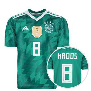 DFB Trikot Away Kroos WM 2018 Kinder, Grün, zoom bei OUTFITTER Online