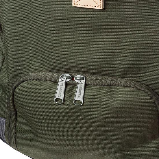 Novel Duffel Tasche, dunkelgrün / dunkelblau, zoom bei OUTFITTER Online