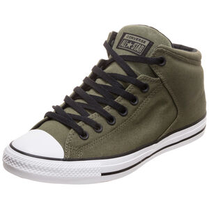 Chuck Taylor All Star High Street High Sneaker, oliv, zoom bei OUTFITTER Online