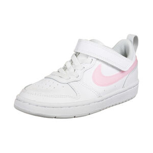Court Borough Low 2 Sneaker Kinder, weiß / rosa, zoom bei OUTFITTER Online