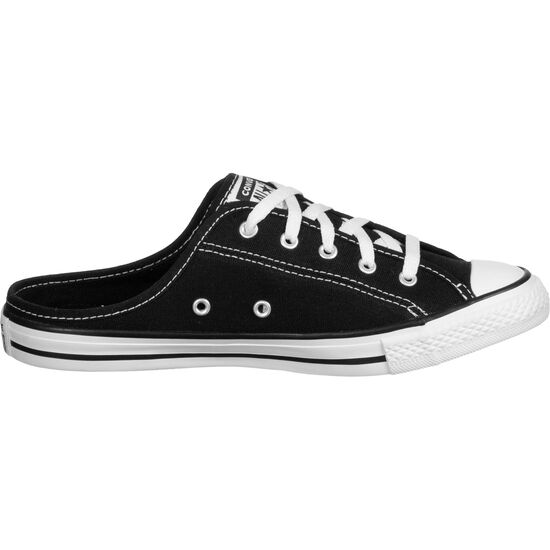 Chuck Taylor All Star Dainty Mule Slip Sneaker Damen, schwarz / weiß, zoom bei OUTFITTER Online