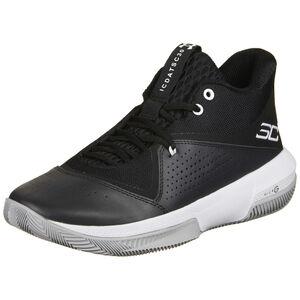SC 3Zero IV Basketballschuh Herren, schwarz / weiß, zoom bei OUTFITTER Online