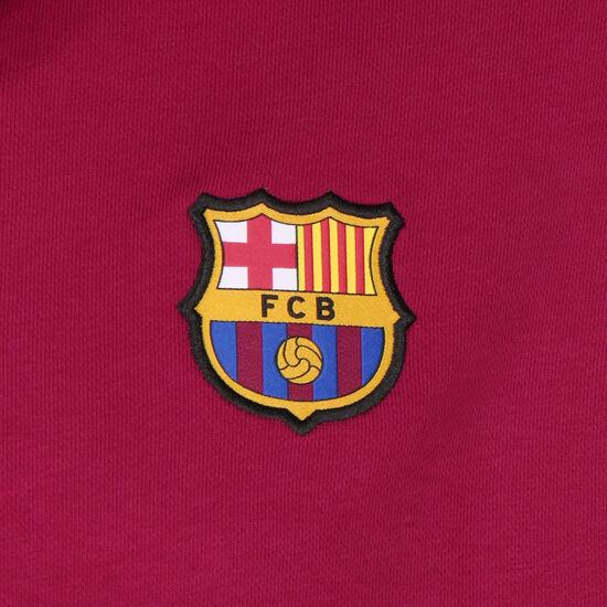 FC Barcelona Fleece Kapuzenpullover Herren, rot / gelb, zoom bei OUTFITTER Online