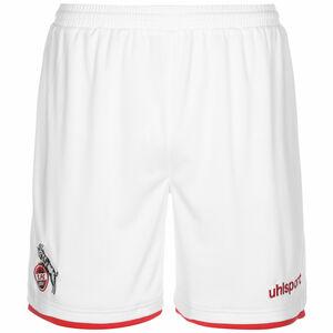 1. FC Köln Shorts Home 2021/2022 Herren, weiß / rot, zoom bei OUTFITTER Online