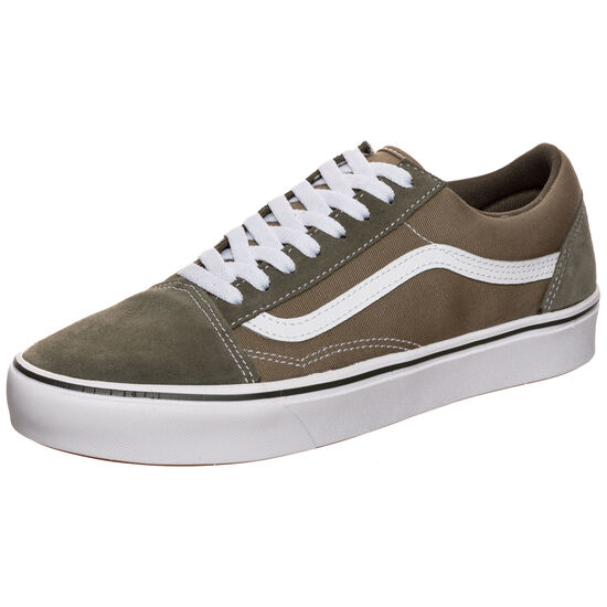 Old Skool ComfyCush Sneaker, oliv / weiß, zoom bei OUTFITTER Online
