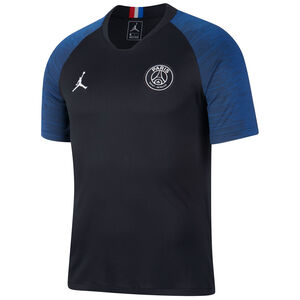 Paris St.-Germain Jordan Strike Trainingsshirt Herren, schwarz / blau, zoom bei OUTFITTER Online