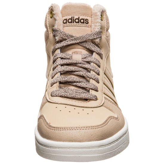 Hoops Mid 2.0 Sneaker Damen, hellbraun / weiß, zoom bei OUTFITTER Online
