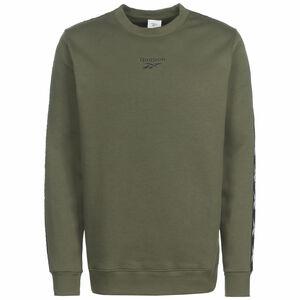 Essentials Tape Sweatshirt Herren, khaki / graugrün, zoom bei OUTFITTER Online