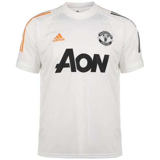 Manchester United Trainingsshirt Herren, weiß / schwarz, zoom bei OUTFITTER Online