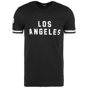 NBA Wordmark Los Angeles Lakers T-Shirt Herren, schwarz / weiß, zoom bei OUTFITTER Online