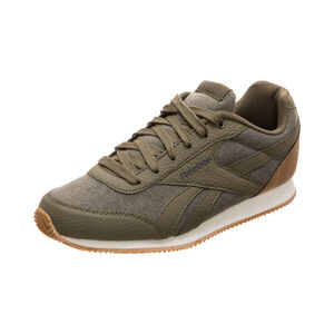 Royal Classic Jogger 2 Sneaker Kinder, grün / weiß, zoom bei OUTFITTER Online