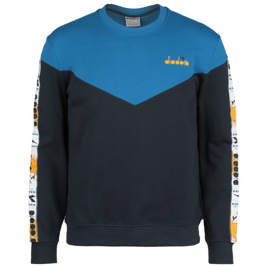 Crew 5Palle Offside Sweatshirt Herren, blau / schwarz, zoom bei OUTFITTER Online