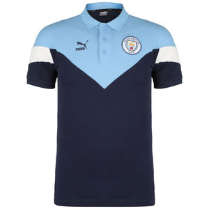 Manchester City Iconic MCS Poloshirt Herren, dunkelblau, zoom bei OUTFITTER Online