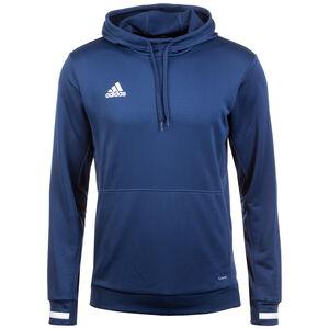 Team19 Trainingskapuzenpullover Herren, blau / weiß, zoom bei OUTFITTER Online