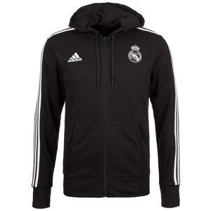 Real Madrid 3S Kapuzenjacke Herren, Schwarz, zoom bei OUTFITTER Online