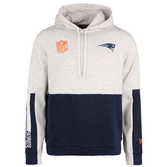 NFL Colour Block New England Patriots Kapuzenpullover Herren, weiß / blau, zoom bei OUTFITTER Online