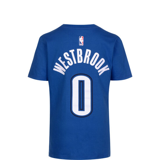 NBA Icon Edition Player #0 Westbrook T-Shirt Kinder, hellblau / weiß, zoom bei OUTFITTER Online