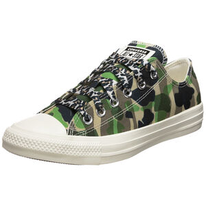 Chuck Taylor All Star Archive Print on Print Sneaker, grün / schwarz, zoom bei OUTFITTER Online