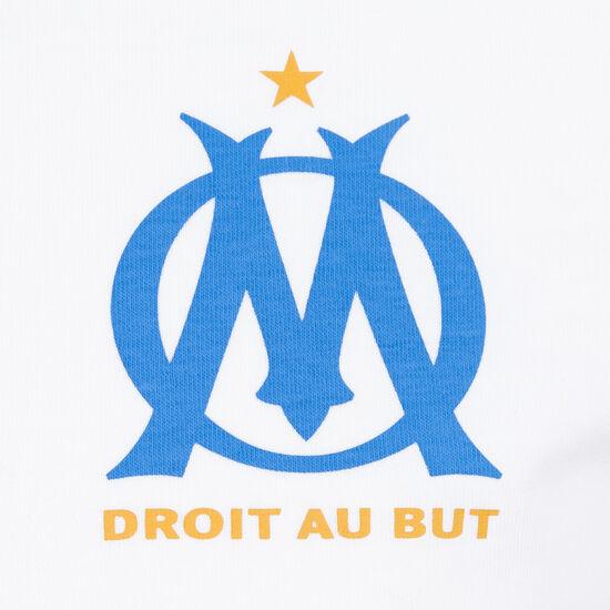 Olympique Marseille Culture Trainingsshirt Herren, weiß / blau, zoom bei OUTFITTER Online