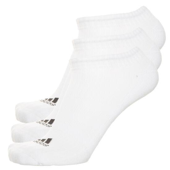 3 Stripes Performance No-Show Socken 3er Pack, Weiß, zoom bei OUTFITTER Online