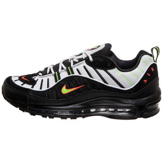 Air Max 98 Sneaker Herren, blau / grün, zoom bei OUTFITTER Online
