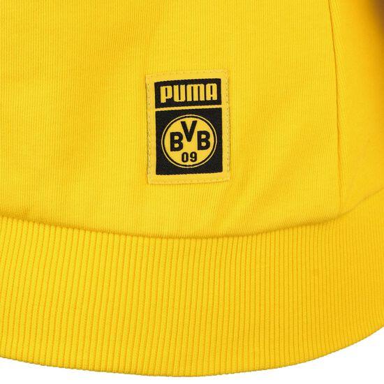 Borussia Dortmund BVB ftblCore Wording Kapuzenpullover Damen, gelb / schwarz, zoom bei OUTFITTER Online