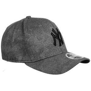 9FIFTY MLB New York Yankees Engineered Plus Stretch Snapback Cap, grau / schwarz, zoom bei OUTFITTER Online