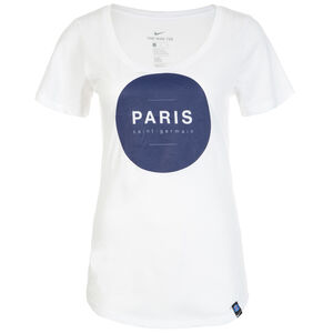 Paris Saint-Germain T-Shirt Damen, weiß, zoom bei OUTFITTER Online