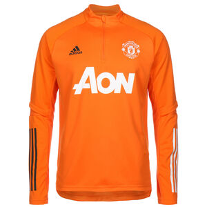 Manchester United Trainingspullover Herren, orange, zoom bei OUTFITTER Online
