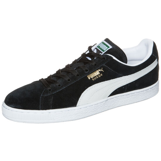 Suede Classic Eco Sneaker, Schwarz, zoom bei OUTFITTER Online