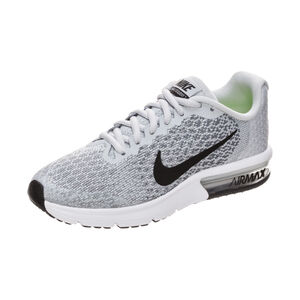 Air Max Sequent 2 Laufschuh Kinder, Grau, zoom bei OUTFITTER Online