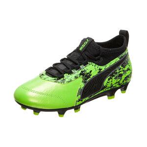 ONE 19.3 FG/AG Fußballschuh Kinder, hellgrün / schwarz, zoom bei OUTFITTER Online