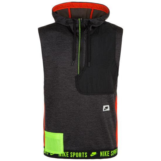 Therma Sport Pack Kapuzenshirt Herren, schwarz / neongrün, zoom bei OUTFITTER Online