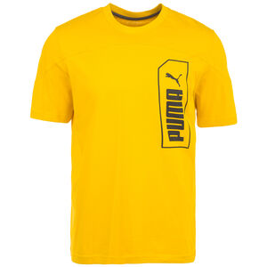 NU-TILITY Graphic T-Shirt Herren, gelb, zoom bei OUTFITTER Online