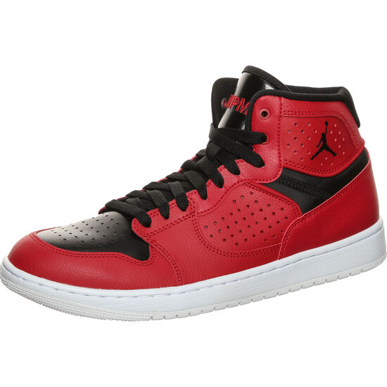 Jordan Access Basketballschuh Herren, rot / schwarz, zoom bei OUTFITTER Online