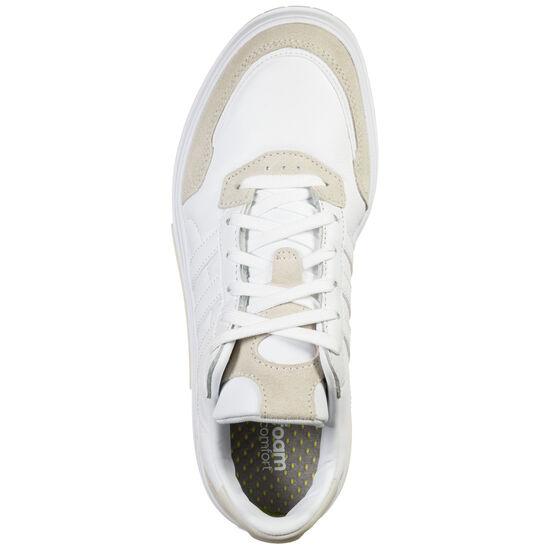 Courtmaster Sneaker Damen, weiß / beige, zoom bei OUTFITTER Online