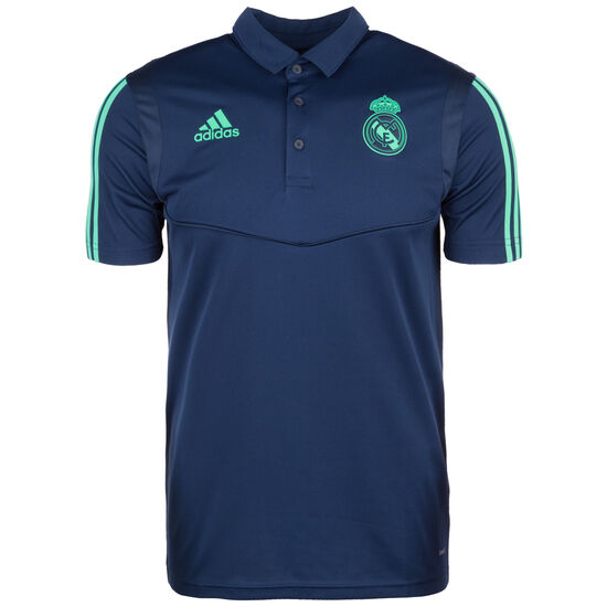 Real Madrid Ultimate Poloshirt, blau / grün, zoom bei OUTFITTER Online