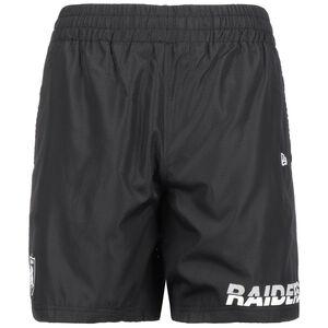 NFL Logo and Wordmark Oakland Riders Short Herren, schwarz / weiß, zoom bei OUTFITTER Online