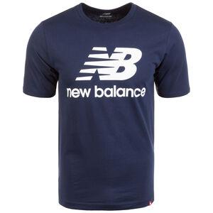Essentials Stacked Logo T-Shirt Herren, dunkelblau, zoom bei OUTFITTER Online