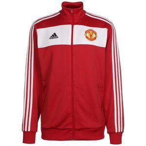 Manchester United 3-Streifen Trainingsjacke Herren, rot / weiß, zoom bei OUTFITTER Online