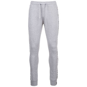 Taped Fleece Jogginghose Herren, grau / weiß, zoom bei OUTFITTER Online