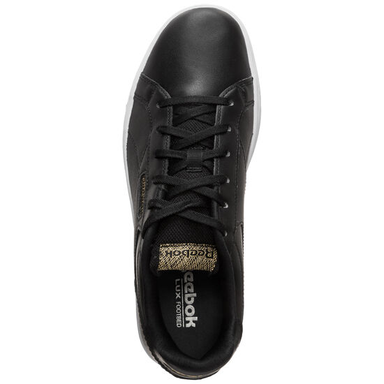 Royal Complete Clean LX Sneaker Damen, schwarz / gold, zoom bei OUTFITTER Online