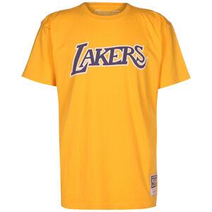NBA Los Angeles Lakers Worn Logo T-Shirt Herren, gelb / lila, zoom bei OUTFITTER Online