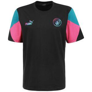 Manchester City FtblCulture T-Shirt Herren, schwarz / pink, zoom bei OUTFITTER Online