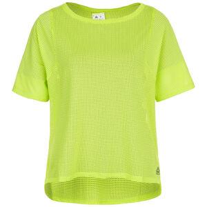 Perforated Trainingsshirt Damen, hellgrün, zoom bei OUTFITTER Online