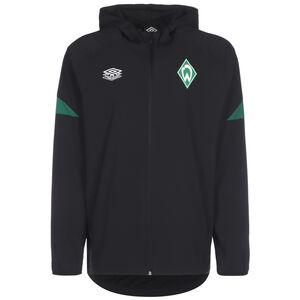 SV Werder Bremen Regenjacke Herren, schwarz / grün, zoom bei OUTFITTER Online