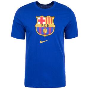 FC Barcelona Evergreen Crest T-Shirt Herren, dunkelblau, zoom bei OUTFITTER Online