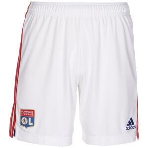 Olympique Lyon Shorts Home 2021/2022 Herren, weiß / rot, zoom bei OUTFITTER Online