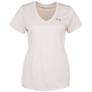 HeatGear Tech Twist Trainingsshirt Damen, rosa, zoom bei OUTFITTER Online