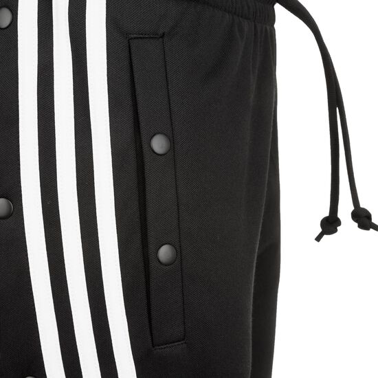 ID 3 Stripes Snap Trainingshose Damen, schwarz, zoom bei OUTFITTER Online
